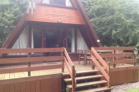 Wooden Lodge by Grafham Water - Grafham