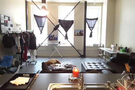 Downtown artsy-chic bungalow styled 1Bedroom loft - Denver