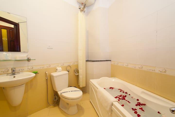 Bath-Tub Room Of Luxury Hotel