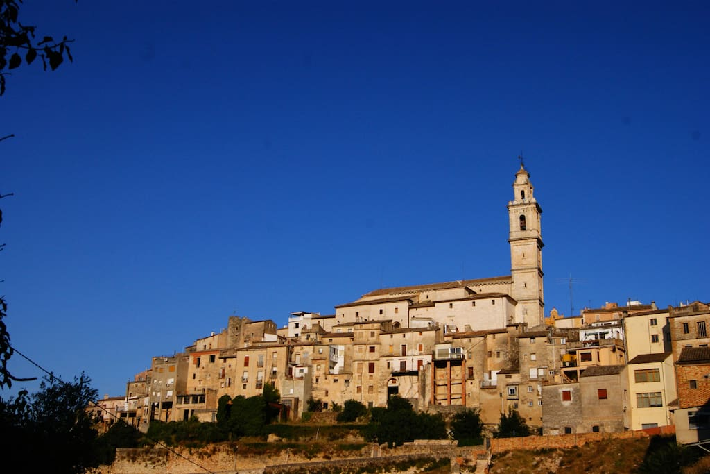 Bocairent from outside the village