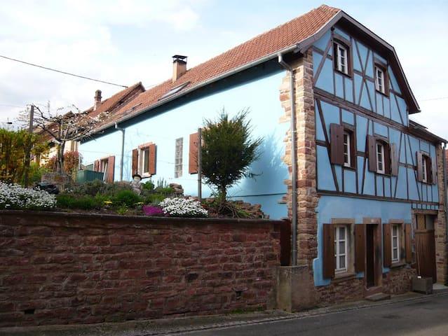 Gîte 8 à 11 pers proximité Obernai