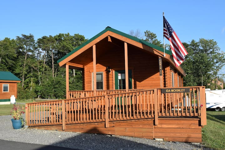 Premium Log Cabin - Fire Pit, Swimming Pool, Mini Golf, and More