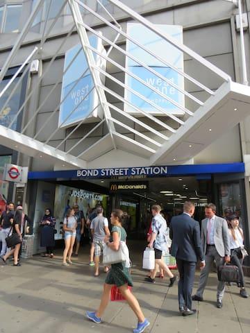 Great Location 2-Bedroom Flat Mayfair Bond Street
