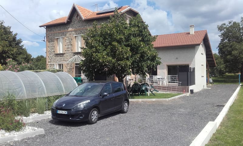 GITE LES GALETS CHANTANTS - Saint-Hilaire-du-Rosier - House