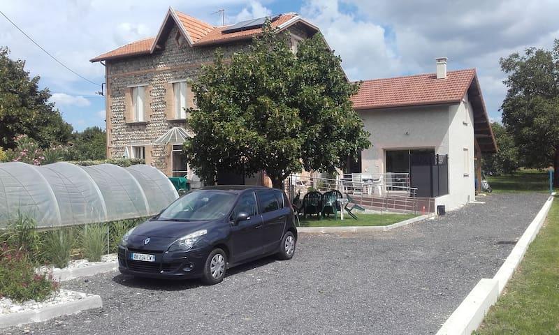 GITE LES GALETS CHANTANTS - Saint-Hilaire-du-Rosier - Dům