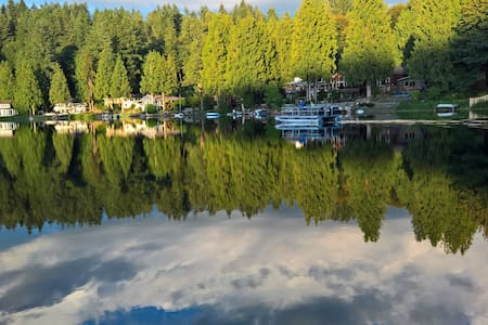 Serene private lakefront apartment in Redmond. - Redmond