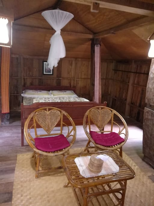 Traditional Cabin with dbl bed