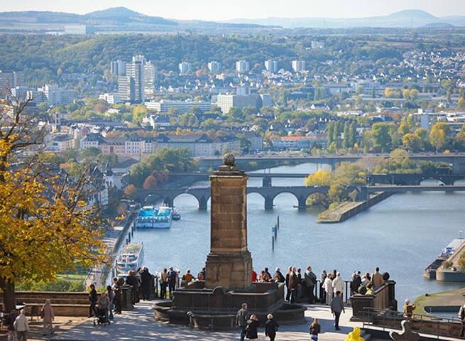 Gästezimmer für 4 Personen in Koblenz