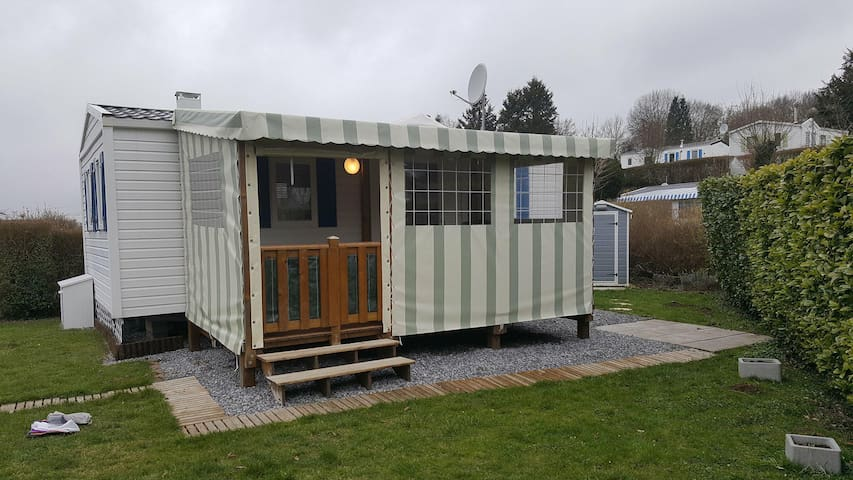 Location mobil-home 6 personnes dans camping