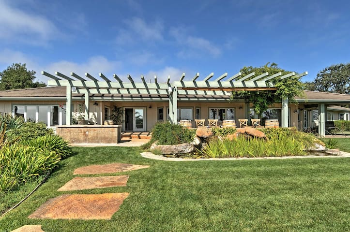 NEW! Charming 'Farmhouse' on 20 acres 3BR Solvang