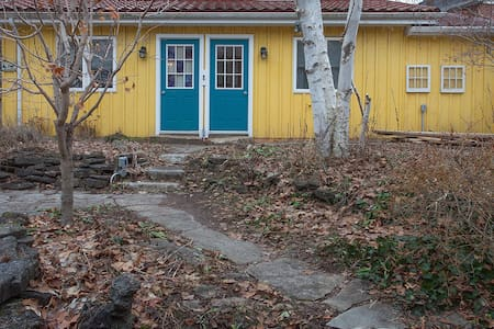 Private, sunny cottage steps from downtown Guelph