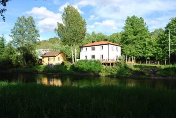 By the river of Viskan