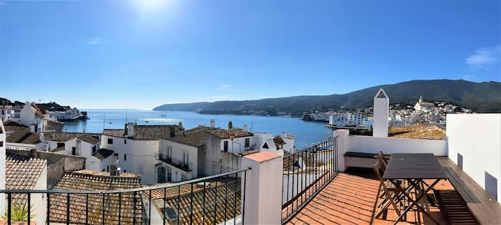 PALAU - Great townhouse with fantastic sea views