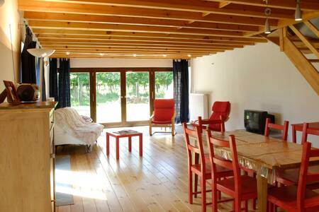 Gîte duplex confortable à la campagne - Lakás