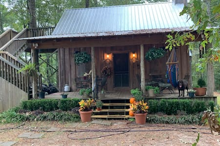 Oak Bottoms A cabin in the woods with sandy creeks