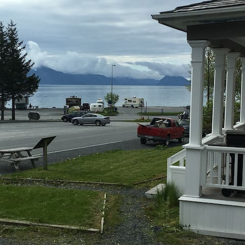 View from the kitchen window, Walk to the waterfront and many local attractions