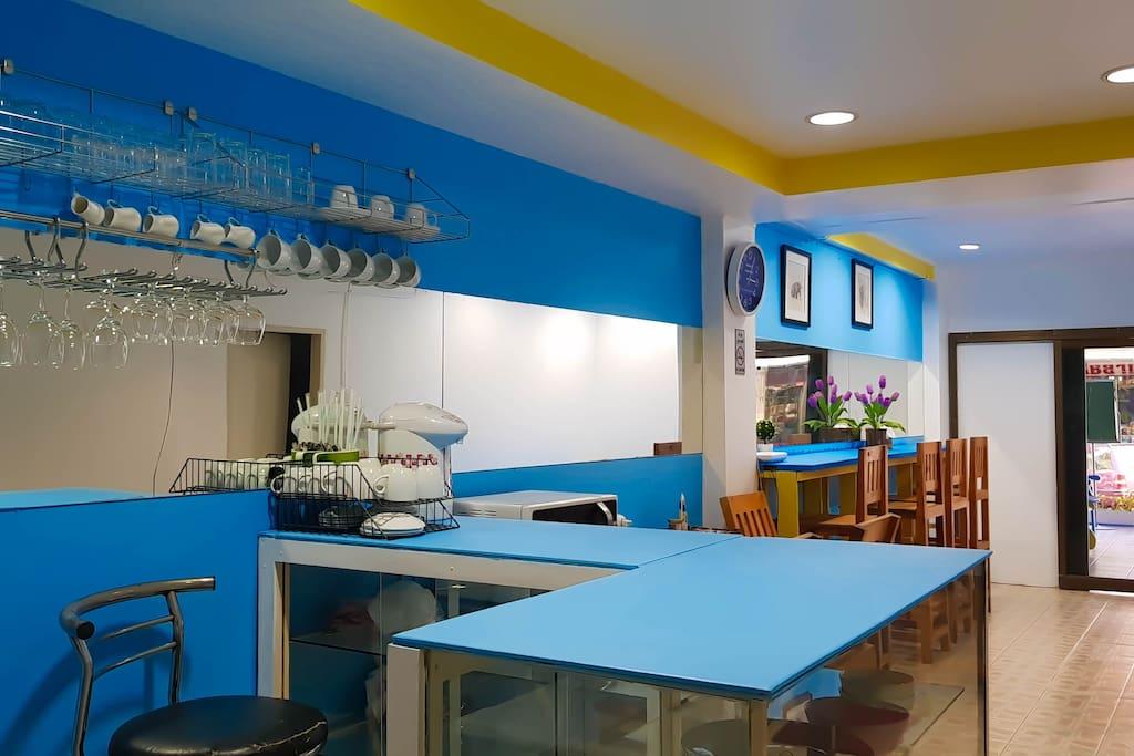 ห้องครัว ใช้ได้ทั้งวันค่ะ