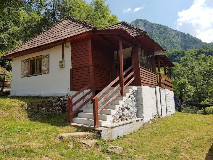 House at the Falls,  Apuseni, Transylvania