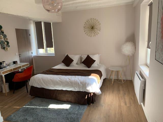 Chambre tout confort en bord de Seine