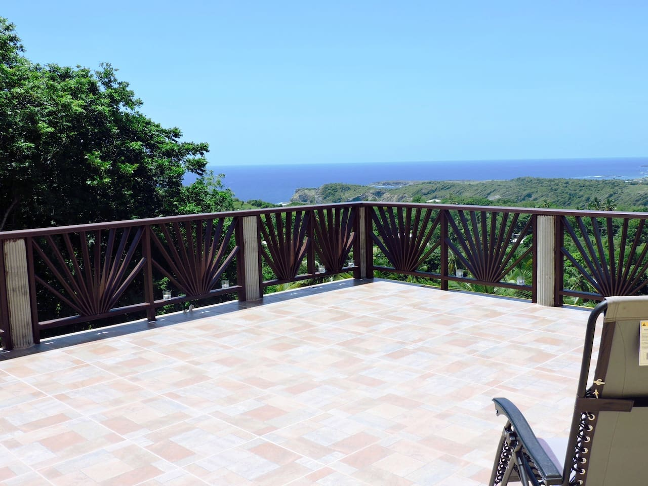Sky Terrace with view of the ocean
