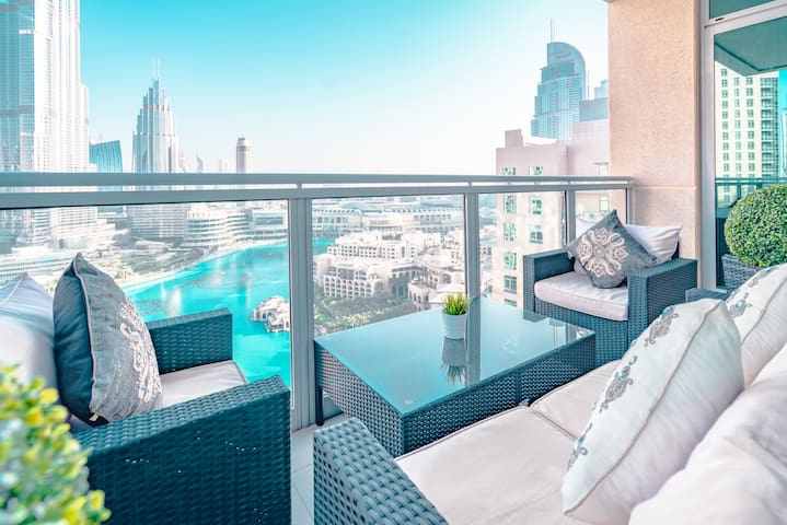 Ultimate Stay 4BR: Burj Khalifa & fountain view