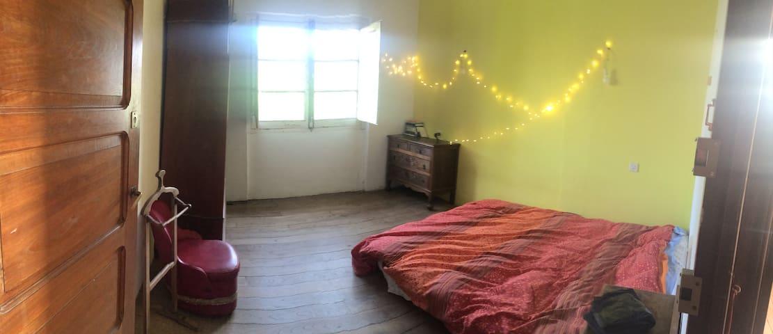 Habitación doble en casa de campo - Camás - Guest suite