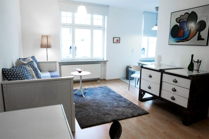Modern apartment in the west of Leipzig - Leipzig - Huoneisto