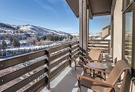Wyndham Resort: Fireplace+ Balcony + Kitchen + Ski - Avon - Autre