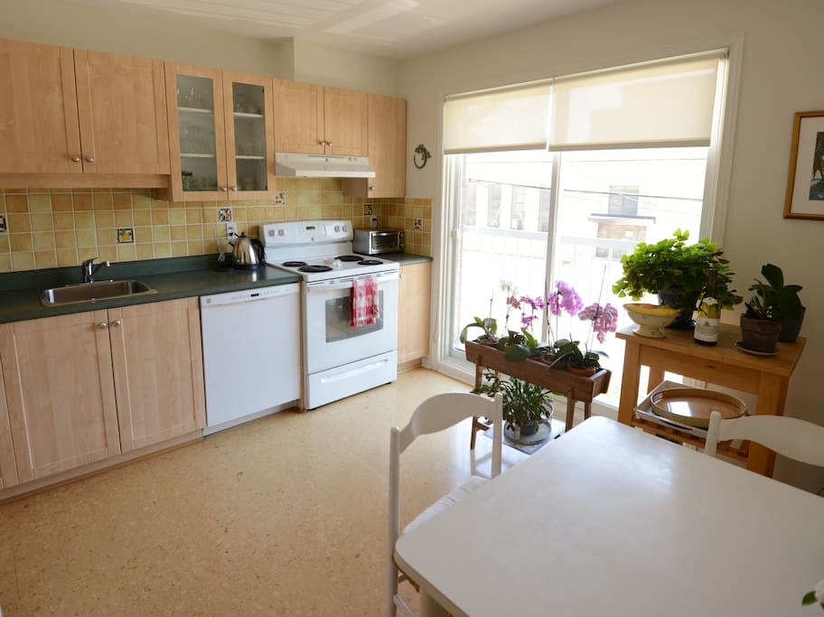 Bright Kitchen with Dishwasher