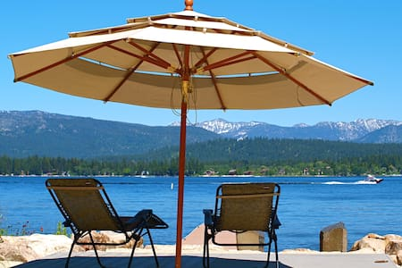 McCall, ID Cabin by Payette Lake with Private Dock - McCall