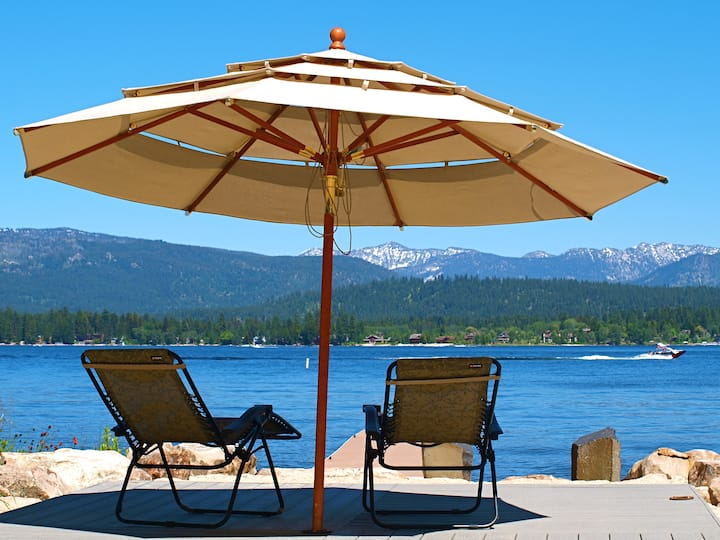 McCall, ID Cabin by Payette Lake with Private Dock