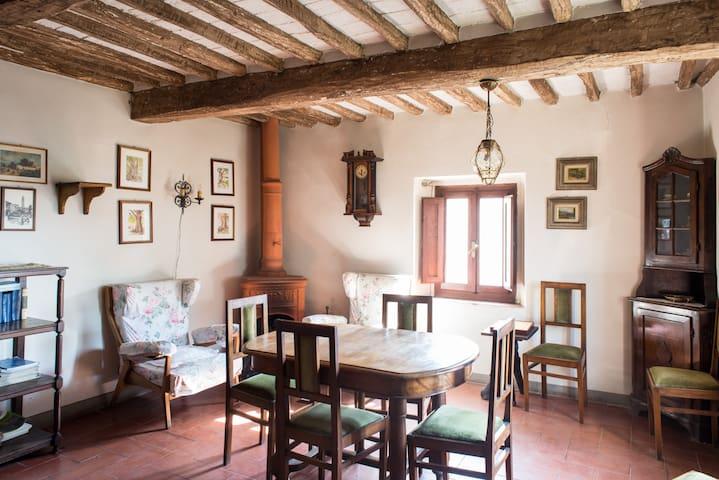 Casale del 500 nel cuore di Toscana