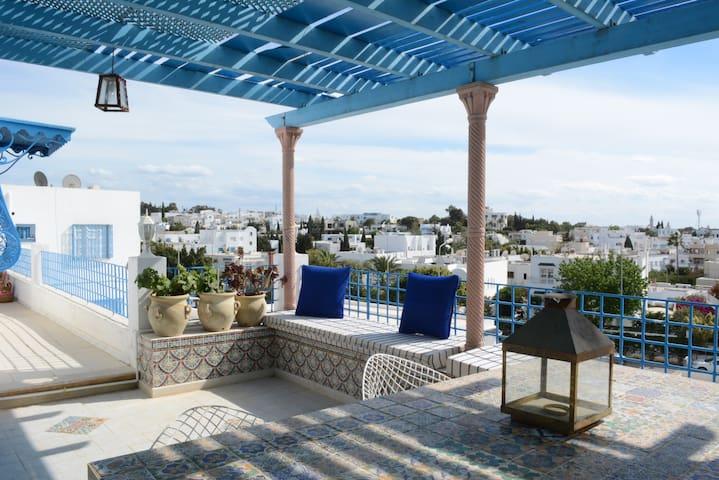 Terrace View Loft @Sidi BouSaïd - Sidi Bou Saïd - Loft