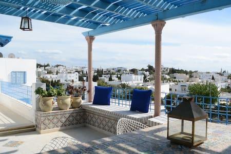 Terrace View Loft @Sidi BouSaïd - Sidi Bou Saïd - Loteng Studio