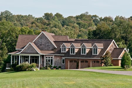 Private Estate on Susquehanna River - Delta - Huvila