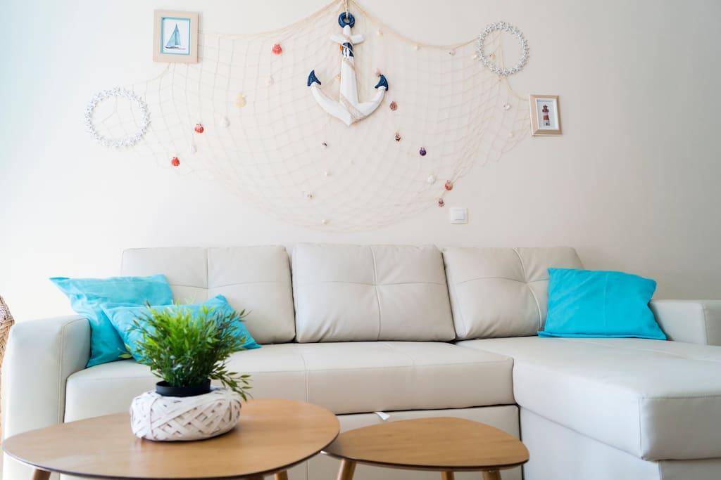 Salón/sofá cama