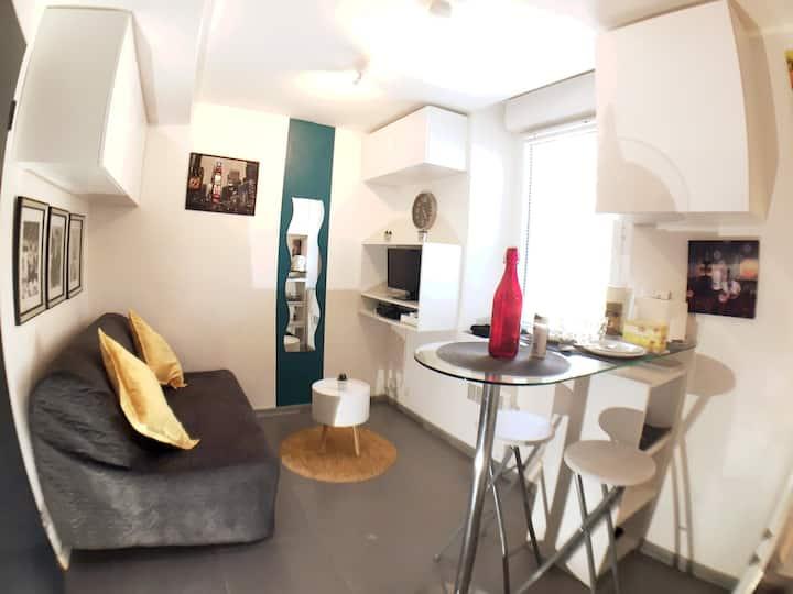 ♡♡Quartier Rangueil, agréable studio tout confort