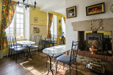 Traditional Breton Mill Guest Rm 1 - Jugon-les-Lacs - Bed & Breakfast