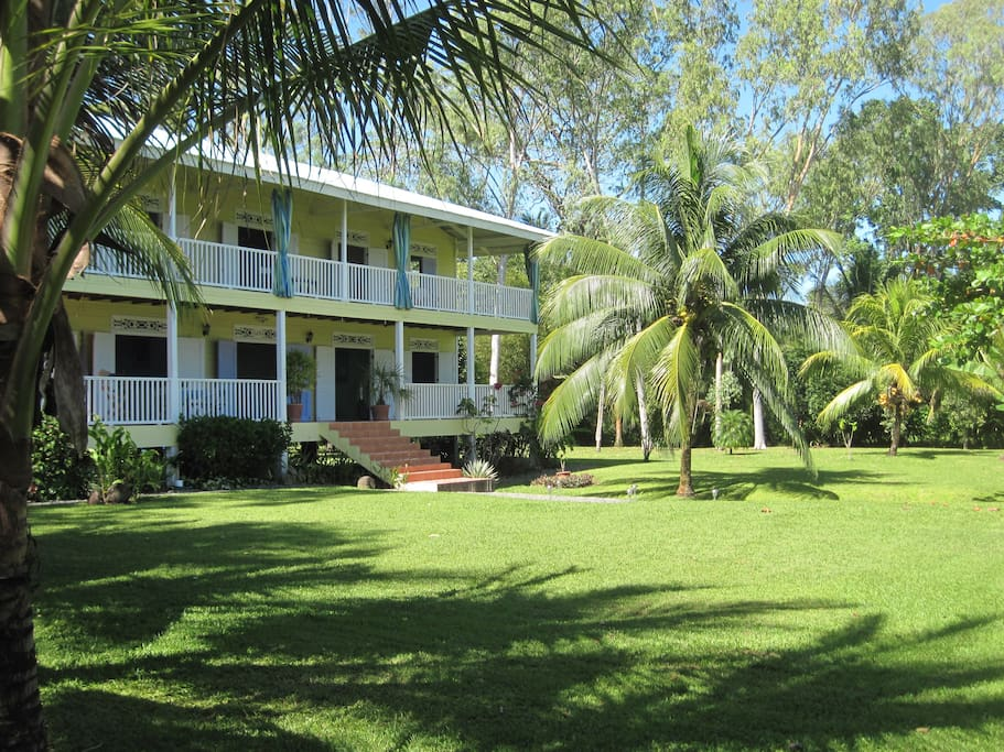 Sand Dollar Beach Bed & Breakfast, 1 mile outside of Bocas Town.