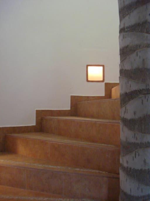 Stairwell - wide and easy access