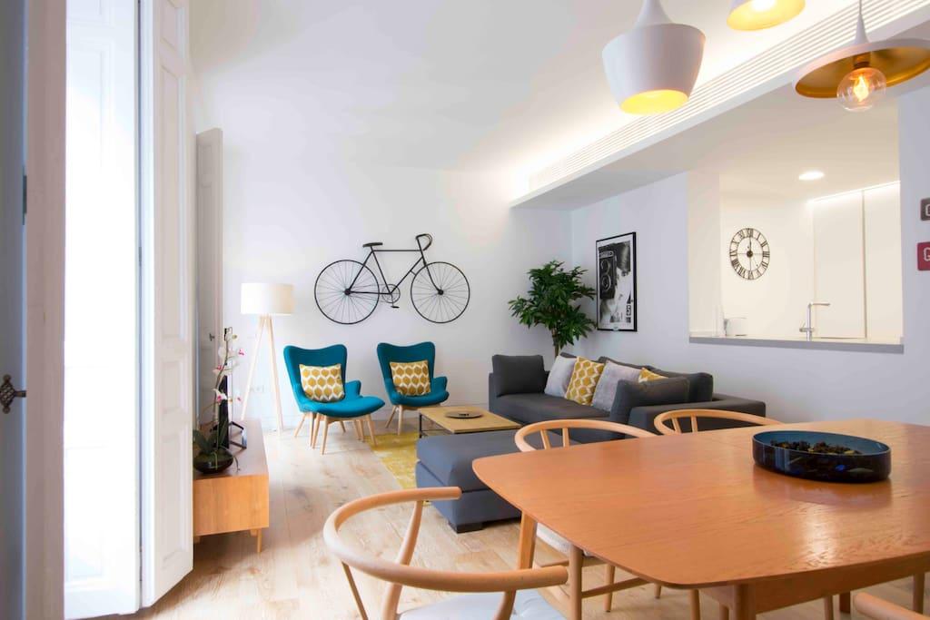 Salón/ Livingroom