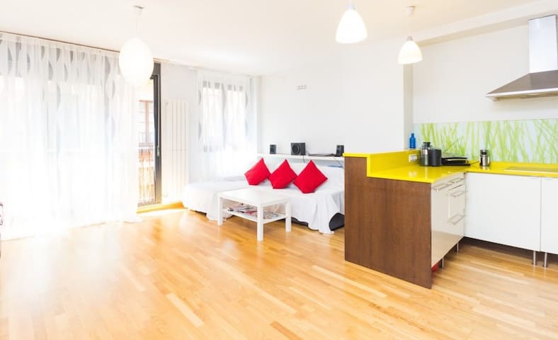 Double Room & Private Bathroom - Madrid - Appartement