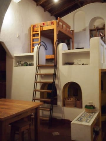 Main house loft (sleeps 3)