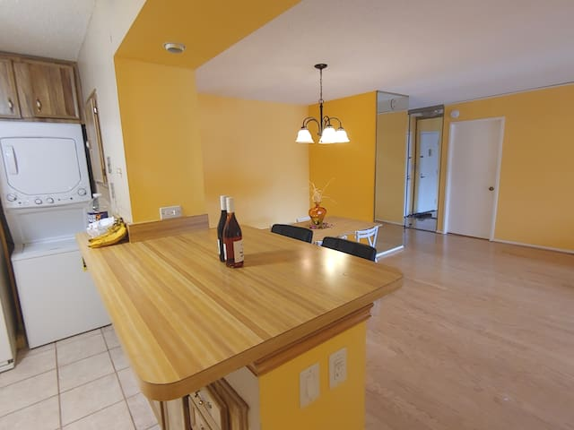 Spacious private condo with amenities and charm!