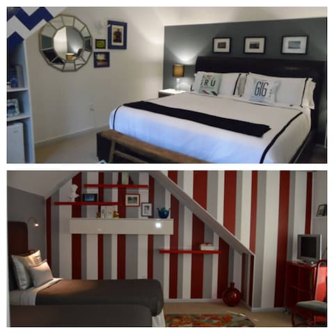 King & Twin Rooms