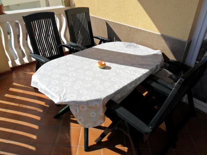 One bedroom apartment with terrace Vodice (A-13973-a)