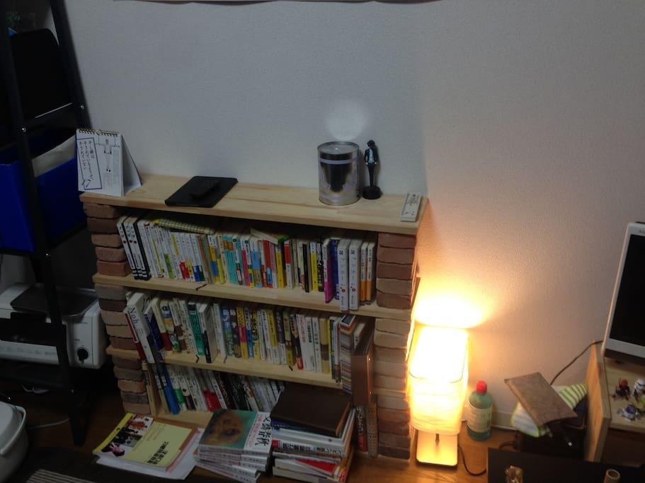 手作りの本棚