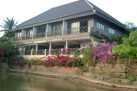 A lovely house overlooking a lake - Banglamung, Pattaya