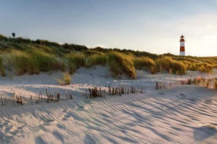 Chalet camping Duinoord, zon, zee , strand..