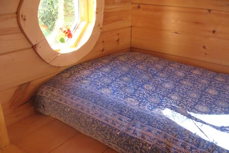 ManyHandsFarm Hostel Private SunSet Cabin - Thorndike - 통나무집